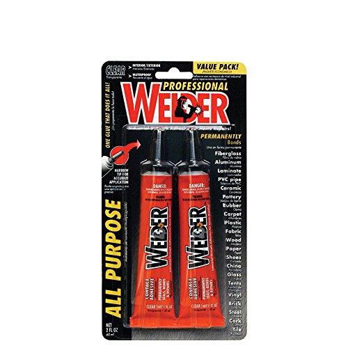Waterproof Adhesive Wood Purpose - All Purpose Adhesive, 2 oz, Industrial Strength, Welder