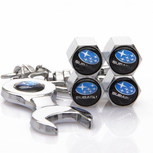 black-subaru-tire-valve-caps-with-bonus-wrench-keychain