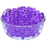 LOVOUS 7000 Pcs Water Beads, Crystal Soil Water Bead Gel, Wedding Decoration Vase Filler - Furniture Decorative Vase Filler, All Occasion Table Scatters Centerpiece Decorations(Purple)