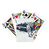 Hip-Hop Freedom Religion Angel Pattern Poker Playing Cards Tabletop Game Gift
