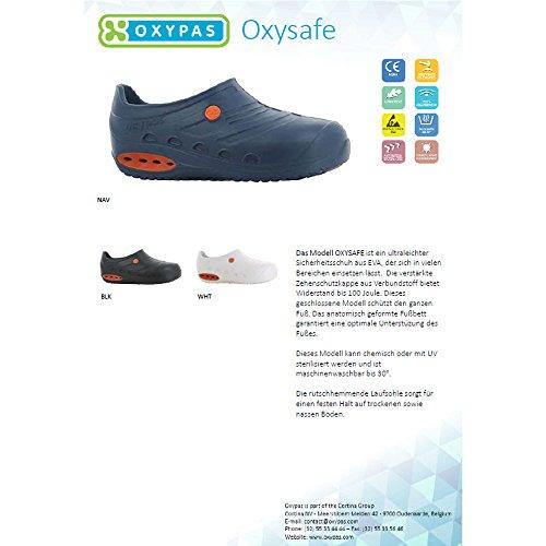 Der Damen White Oxysafe und EVA Herren mit Schutzkappe ESD Schuh Oxypas für 7E6848x