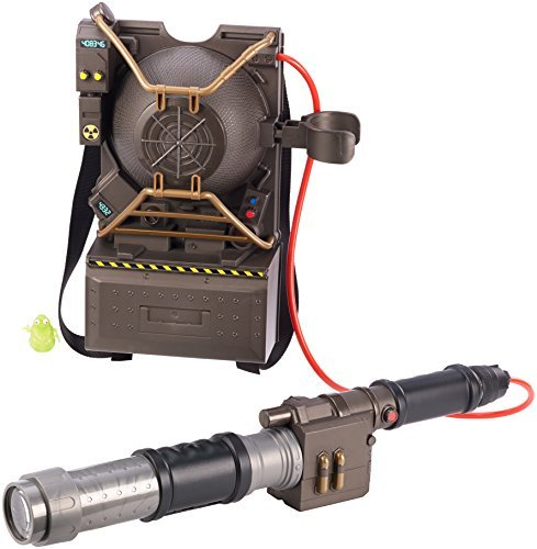 [Ghostbusters Electronic Proton Pack Projector] (Ghostbuster Costume Backpack)
