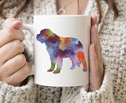 Saint Bernard Mug - Saint Bernard Lover Coffee Mug - 11oz - Unique Saint Bernard Gifts ()