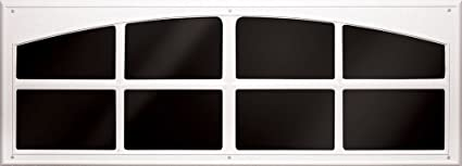 Coach House Accents Simulated Garage Door Window 2 Windows Per Kit White Model Ap143199
