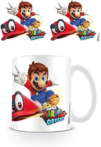 Super Mario Odyssey - Taza de café (cerámica, 7,9 x 11 x 9,3 cm ...