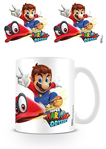 Multicolore Unica Ceramica 7.9/x 11/x 9.3/cm Pyramid International Coffee Mug Super Mario Odyssey Cappy Throw Tazza di caff/è