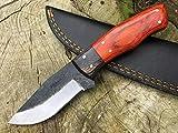Perkin PK666 Hunting Knife with Sheath Fix Blade Knife