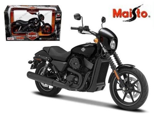 New 1:12 HARLEY-DAVIDSON CUSTOM - BLACK 2015 HARLEY-DAVIDSON STREET 750 By ()