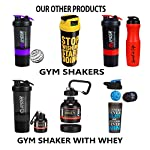 Faran Protein Shaker/Blender Bottle for Whey Protein Mix, Cycling, Gym Water Bottle with Stainless Steel Blender Ball…