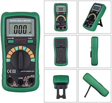 LIZANAN Digital Precise instrument MS8233D Pro Multimeter With 2000uF Capacitance 200kHz Frequncy Measurement Auto Range Digital Multimeter PK UT136B Multimeter