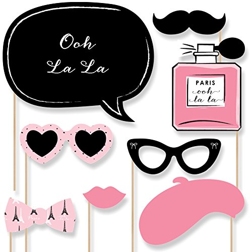Paris, Ooh La La - Photo Booth Props Kit