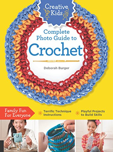 Creative Kids Complete Photo Guide to Crochet Digital Photo Activity Kit