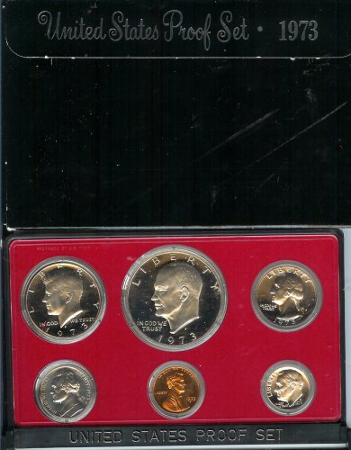 1973 U.S. Proof Set in Original Government Packaging ()