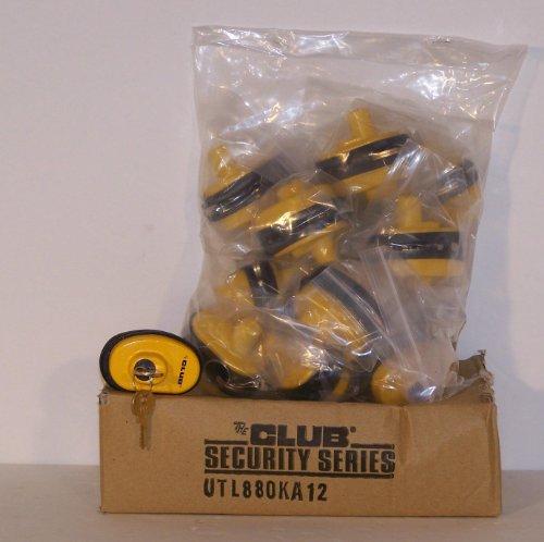 48 Pack Keyed Alike Club Brand Gun Trigger Locks