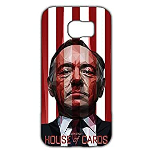 Unique Style Custom House of Cards Phone Case cover for Samsung Galaxy S6 3d hard plastic case