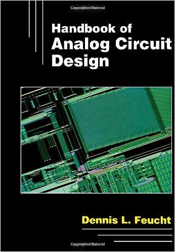 Book Handbook of Analog Circuit Design