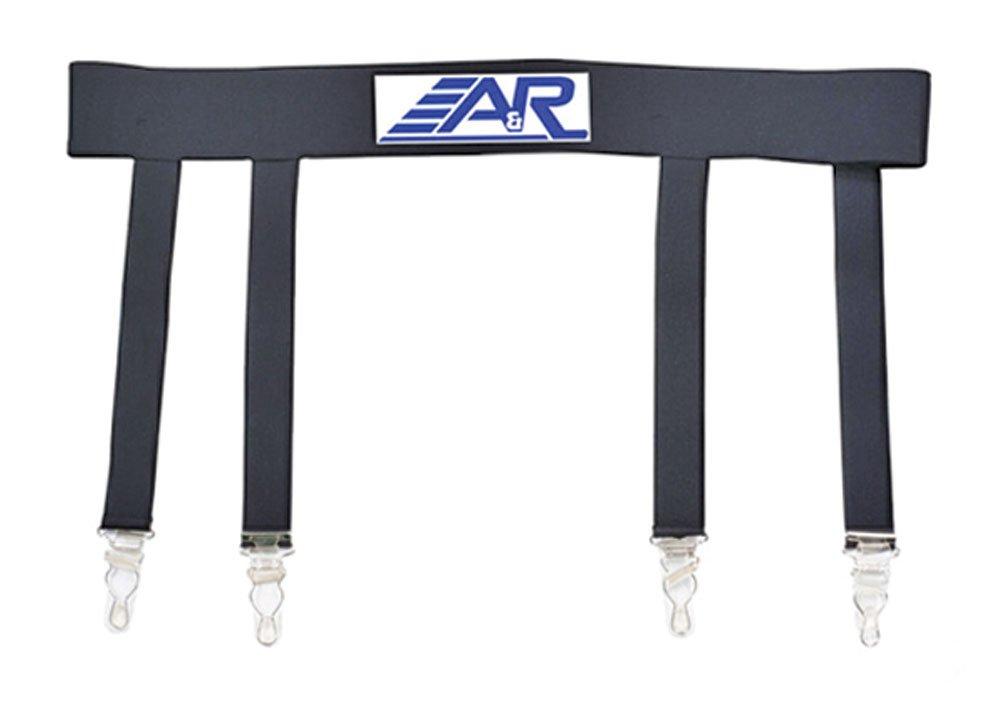 A& R Pro Heavy Duty Ice Hockey Sock Garter Belt Reinforced Stitching Holds Socks ALLIED ENTERPRISE INC JGB