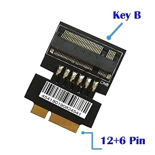 M.2 (NGFF) SSD to 18Pin Adapter for 2010-2011 Macbook Air