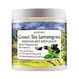 Evarne Green Tea Lemongrass Dead Sea Salt Body Scrub