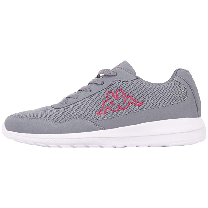 Kappa Follow Sneakers Damen Herren Unisex Grau/Rosa (Pink)