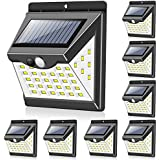 Solar Lights Outdoor[40 LED & 3 Working Modes], Towkka Wireless IP65 Waterproof Solar Lights with 300° Lighting Angle…
