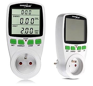 GreenBlue GB202 La consommation d'énergie mètre wattmètre prise compteur d'énergie de compteur