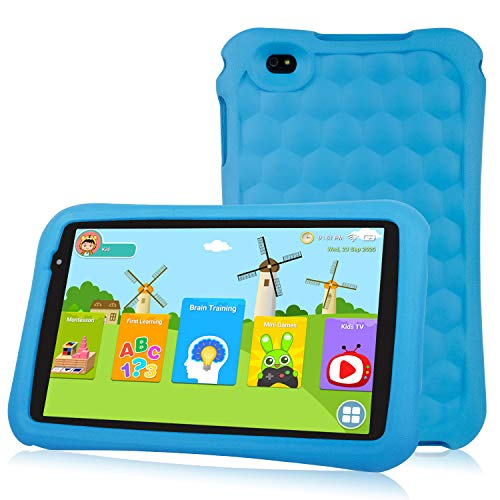 10.1 inch Kids Tablet PC Quad Core Android 9.0 Pie OS Tablet for Kids HD Screen 2GB+32 GB Dual Camera 2MP Front+ 5MP…