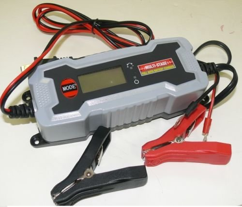 Price comparison product image 12V Battery Power Charger Maintainer AGM GEL Cell Auto RV - HOOK UP AND USE