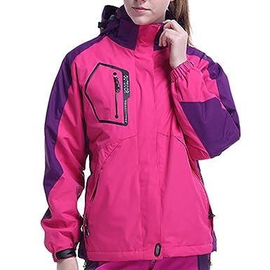 ac3595d2de25 SHOBDW Manteau Femme Hiver Blouson Doublure Polaire Veste Grande Taille  Hoodie Pullover Deux pièces Sweatshirt à