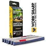 Work Sharp WSSA0002705 Fine 6000 Replacement Belt Kit (WSKTS & WSKTS-KT Only)