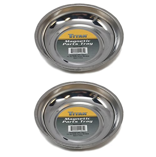 Titan Magnetic Mini Parts Tray (2 Pk) - Bundle