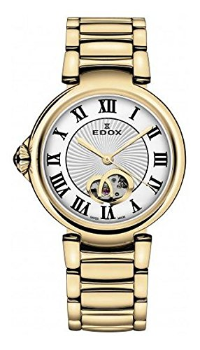 Edox-Womens-85025-37RM-ARR-LaPassion-Analog-Display-Swiss-Automatic-Rose-Gold-Watch