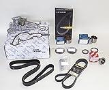 OEM Aisin TKT-001 Complete Water Pump Kit-Timing Belt