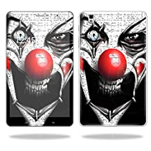 """Mightyskins Protective Vinyl Skin Decal Cover for Samsung Galaxy Tab Pro 8.4"""" T320 Tablet skins wrap sticker skins Evil Clown"""