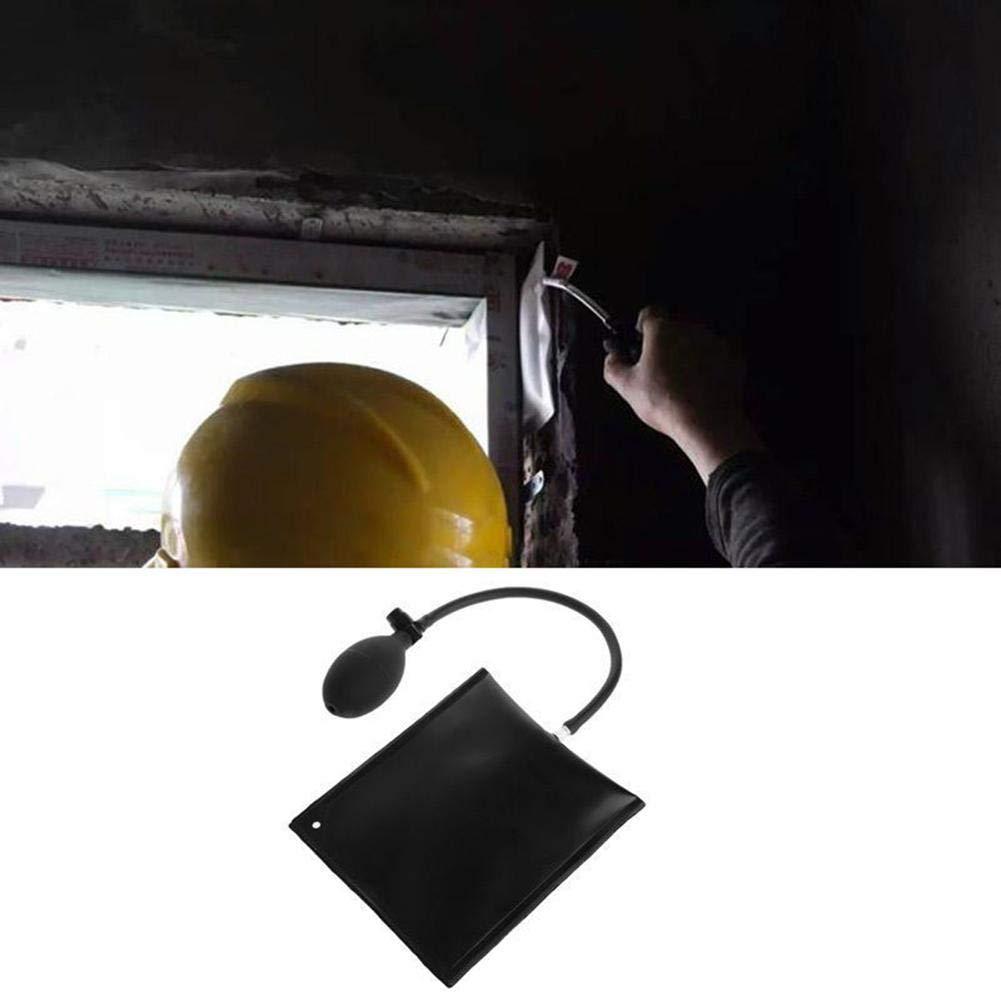 JERALD GATES Auto Air Black Wedge Airbag Lock Pick Set Open Car Door Lock Medium 6.5 inch Car Door Window Repair Pump Wedge Tool