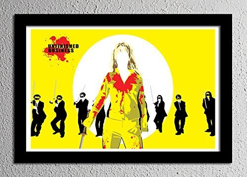 Kill Bill - The Bride - Uma Thurman - Crazy 88's - Poster