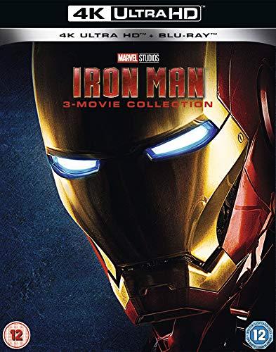 Iron Man 4K UHD Trilogy [Blu-ray] [2019] [Region Free]