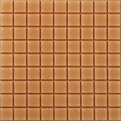 WOCACHI Wall Stickers Decals Self-Adhesive Mosaic Wall Sticker Tile Floor Kitchen Bathroom Waterproof Brown Art Mural Wallpaper Peel & Stick Removable Room Decoration Nursery Decor