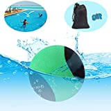 Edealing Water Bouncing Ball for Pool & Sea - Fun Water Sports Game for Family and Friends - Anti-Cracking Soft and Strong Bounce - 2.17 Inch (Green)