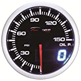 52mm Depo Racing Digital Oil Pressure Gauge PSI