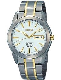 Seiko Men's SGG733 White Titanium Quartz Watch