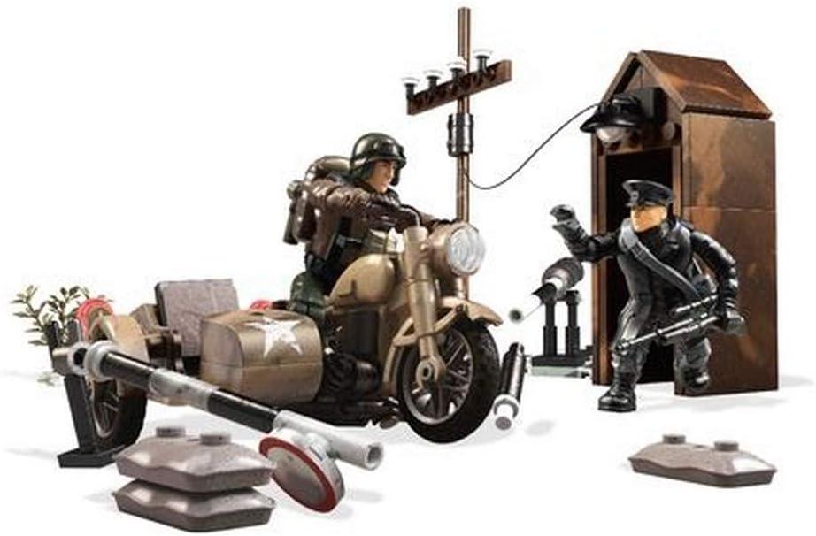 Mega Bloks Construx Call of Duty Legends, Parada de Combustible, Juguetes Niños 10 Años (Mattel FMG16)