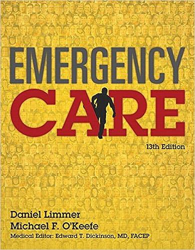 Emergency care 13th edition emt 9780134024554 medicine emergency care 13th edition emt 9780134024554 medicine health science books amazon fandeluxe Gallery