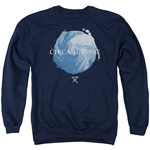 - Circa Survive - Storm - Adult Crewneck Sweatshirt - Large