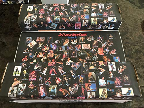 J2 Classic Rock Cards 2019 Factory Set of 840 cards