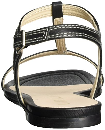 cheap sale good selling buy cheap comfortable Unisa Women's Canoa_st Wedge Heels Sandals Black (Black) cheap price many kinds of bhEWwhTr