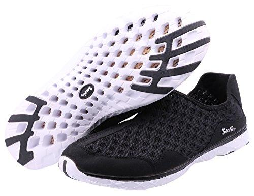 Custome Poids Homme Respirant Mode Chaussures Léger Engrener D'eau Noir OZPkXiu