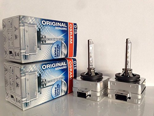 2pcs New Osram D1S 66144 4800K Xenon HID Light Bulbs ( Free Priority Shipping) 2 YEAR WARRANTY! (Philips D1s)