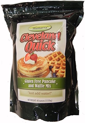 Cleveland Quick - Gluten Free Instant Pancake Waffle Mix -Two 40 Oz Packages