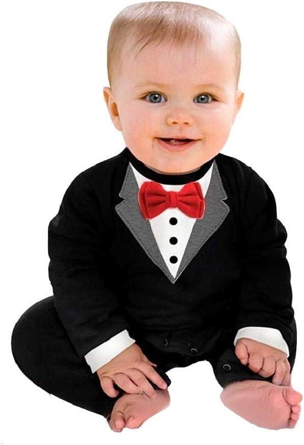 Disfraz frack niño caballero mameluco pajarita 6/12 meses talla 80 papillon